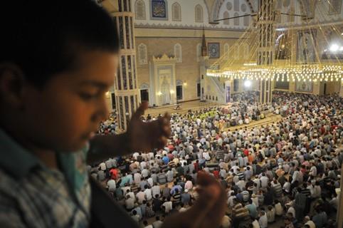 Abdulhamit Han Camii'nde Kadir Gecesi