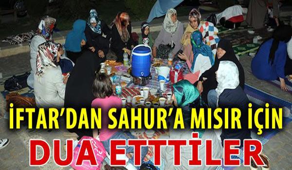 Kahramanmaraş'tan Adeviye'ye İftar'dan Sahur'a Dua