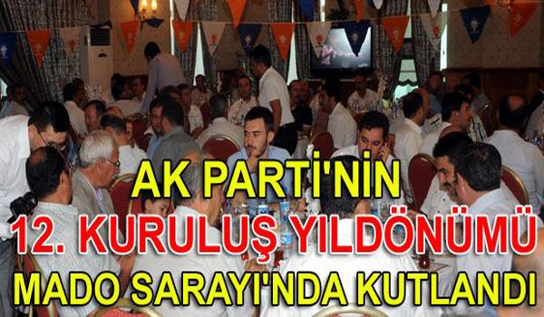 AK Parti'nin 12. kuruluş yıl dönümü