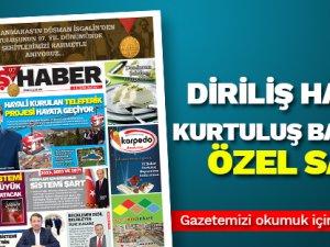 Diriliş Haber 12 Şubat Kurtuluş Bayramı gazetesi özel sayı