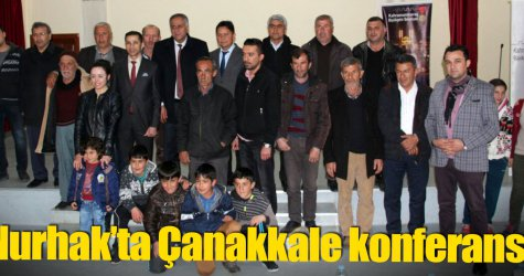 Nurhak'ta Çanakkale konferansı