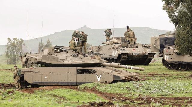 İsrail Golan'a göz koydu