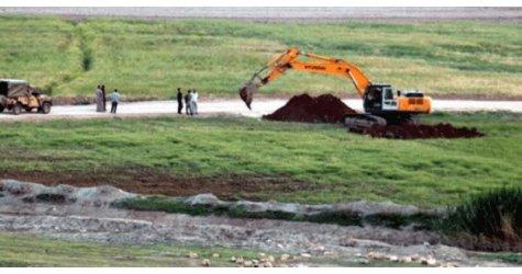 Flaş gelişme! Suriye sınırı kazılıyor...