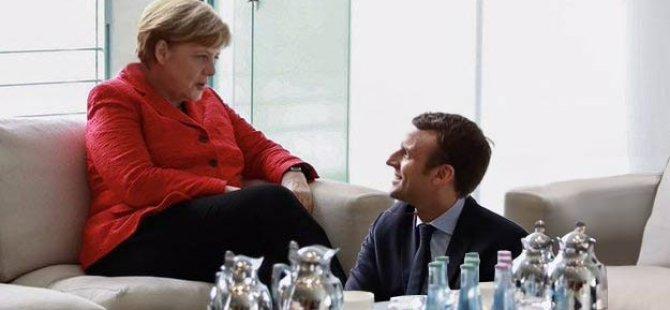 Merkel'den ilginç 'Macron' açıklaması!