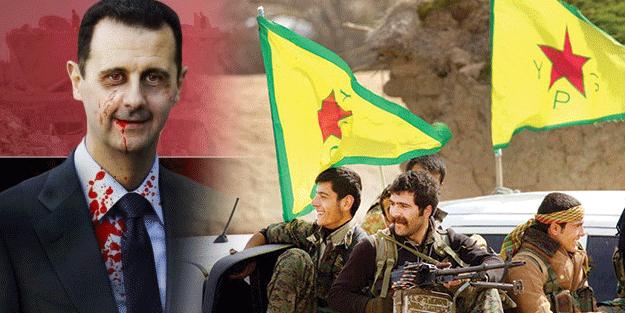 Birbirlerine girdiler! Esed ile terör örgtütü YPG çatıştı