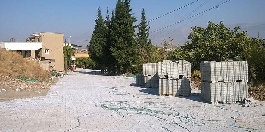 Mamaraş'a 5 bin metrekare parke