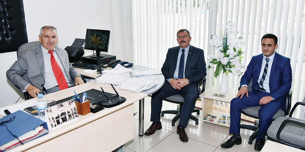 Başkan Aydın'dan, PTT Müdürlüğüne 177. Yıl Ziyareti