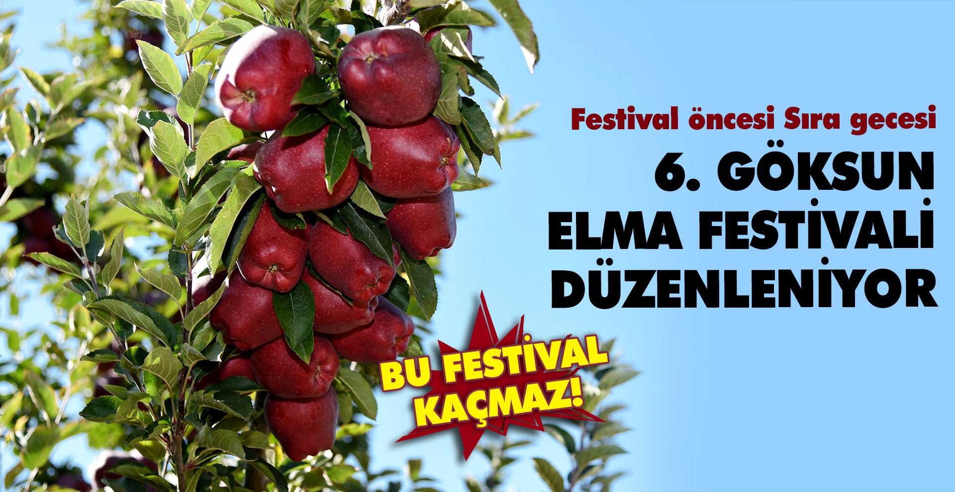 Göksun Elma'sı için 6. Festival düzenleniyor