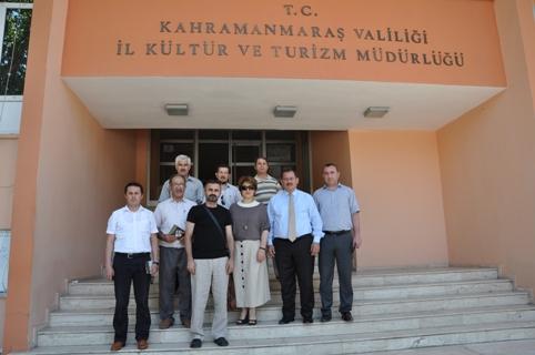 Kültür ve Turizm Müdürüne Ziyaret
