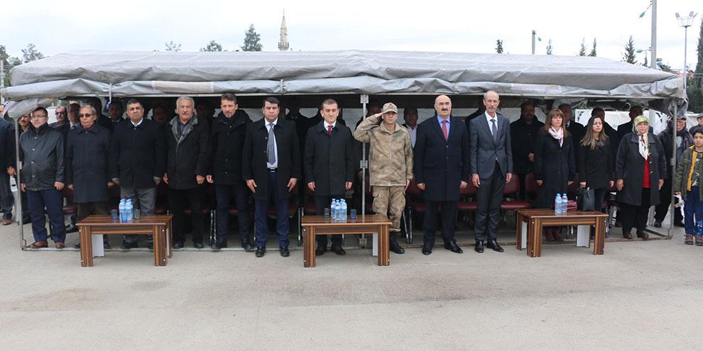 Atatürk'ün Narlı'ya gelişinin 85. yılı törenlerle kutlandı