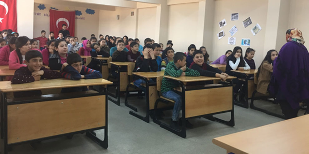 Öğrencilere gıda güvenliği eğitimi verildi