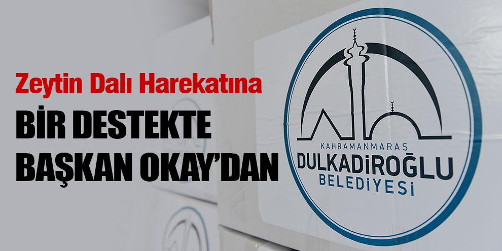 Zeytin Dalı Harekatına bir destekte Başkan Okay'dan