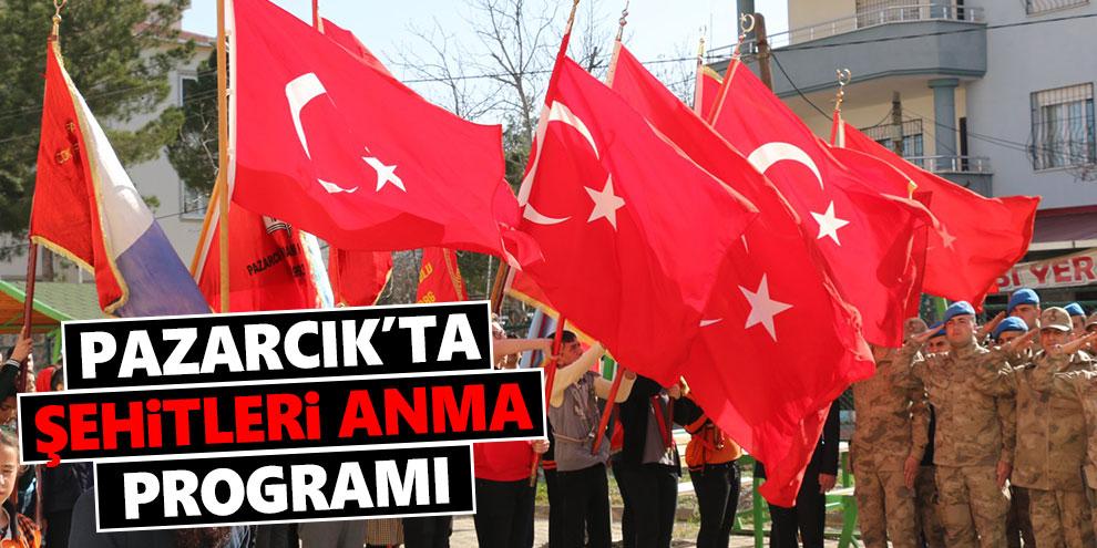Pazarcık'ta şehitleri anma programı