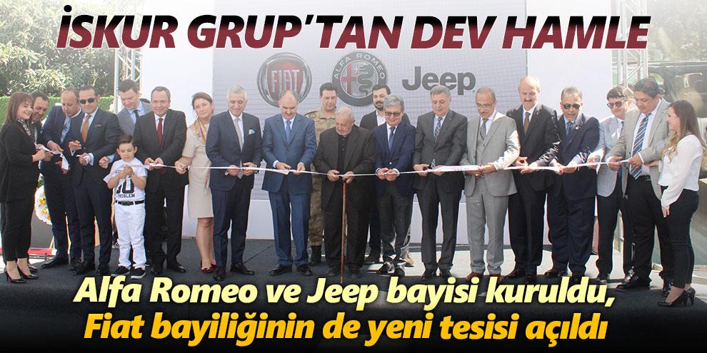 Alfa Romeo ve Jeep bayisi kuruldu, Fiat bayiliğinin de yeni tesisi açıldı