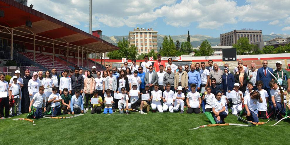 Okul Sporları Okçuluk İl Birinciliği Turnuvası tamamlandı