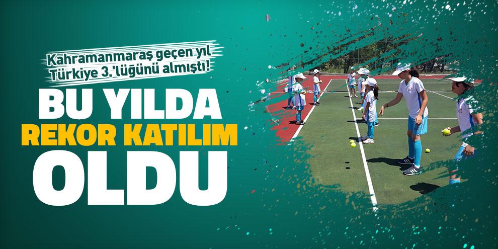 Kahramanmaraş geçen yıl Türkiye 3.'lüğünü almıştı! Bu yılda rekor katılım oldu