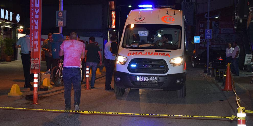 Malatya'da 2 ayrı olayda 2 kişi yaralandı