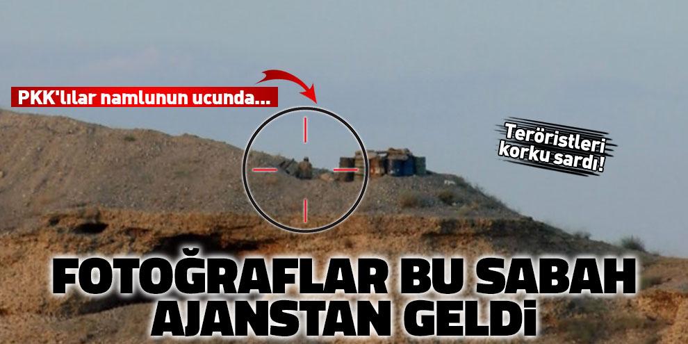 PKK'lılar namlunun ucunda... Teröristleri korku sardı!