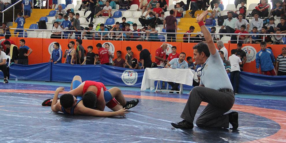 Miniklerin Türkiye Şampiyonası Kahramanmaraş'ta gerçekleşti