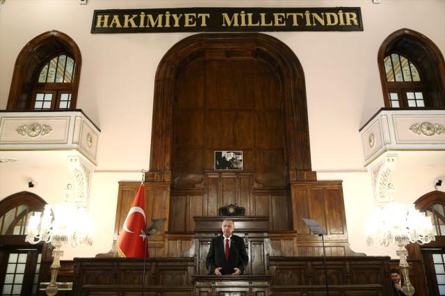 Ankara'da Tarihi Gün! Erdoğan ve Bakanlar 1. Meclis'te