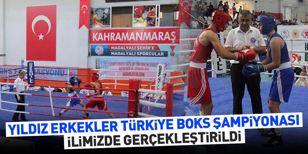 Yıldız Erkekler Türkiye Boks Şampiyonası İlimizde Gerçekleştirildi