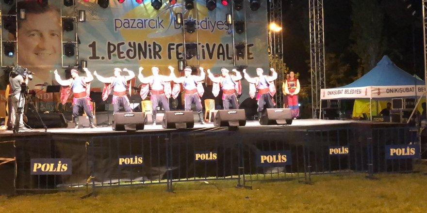 Pazarcık'ta 1. Peynir Festivali başladı