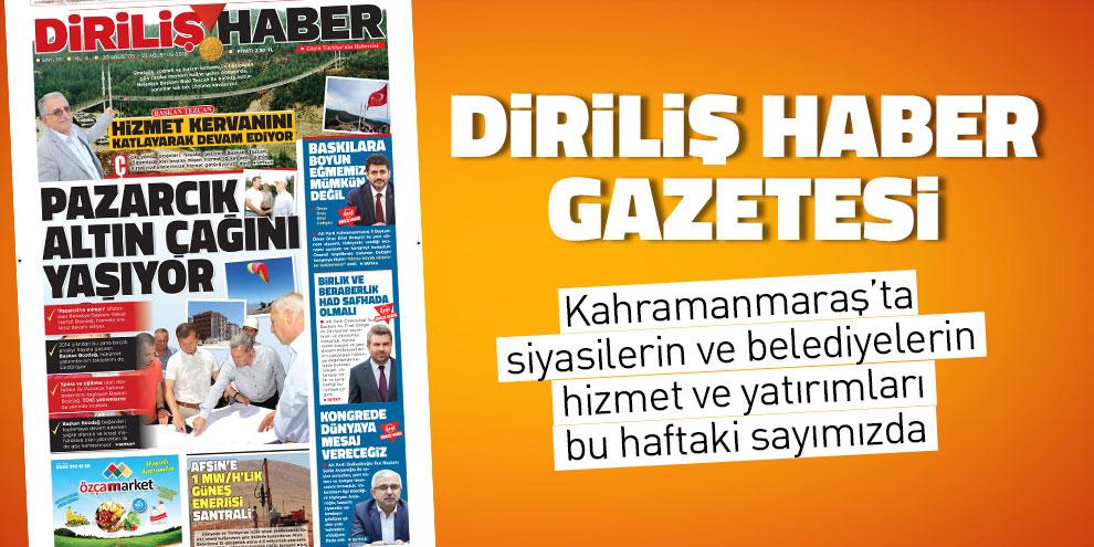Diriliş Haber Gazetesi bu hafta ki sayısı! Sayı 171