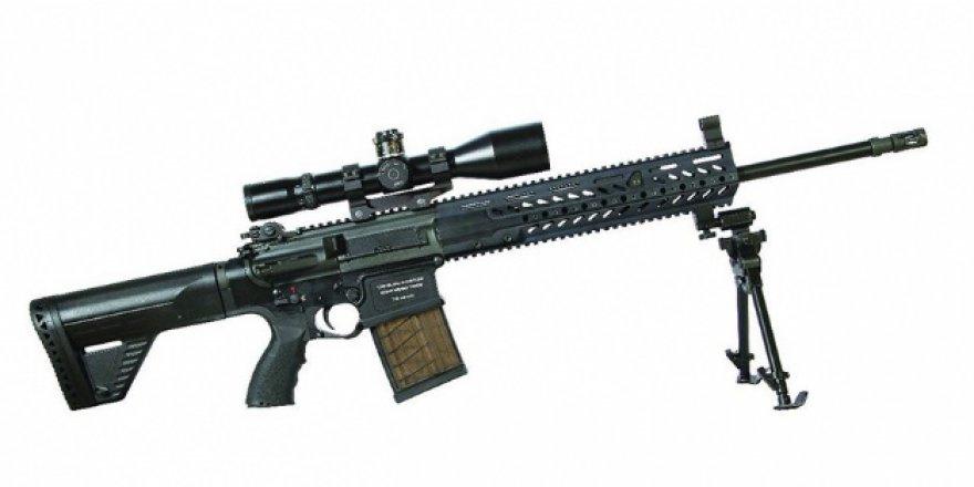 Yerli keskin nişancı tüfeği seri üretime geçti