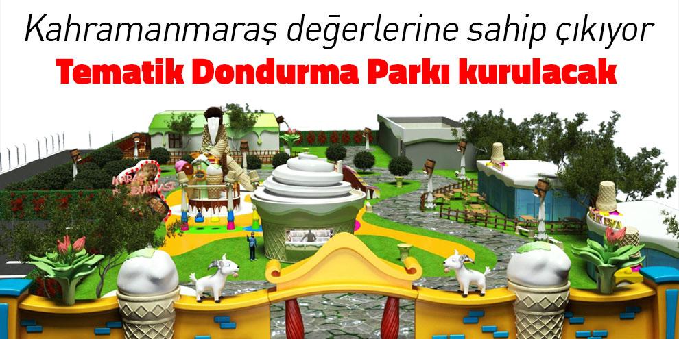 KAFUM'a tematik dondurma parkı kurulacak