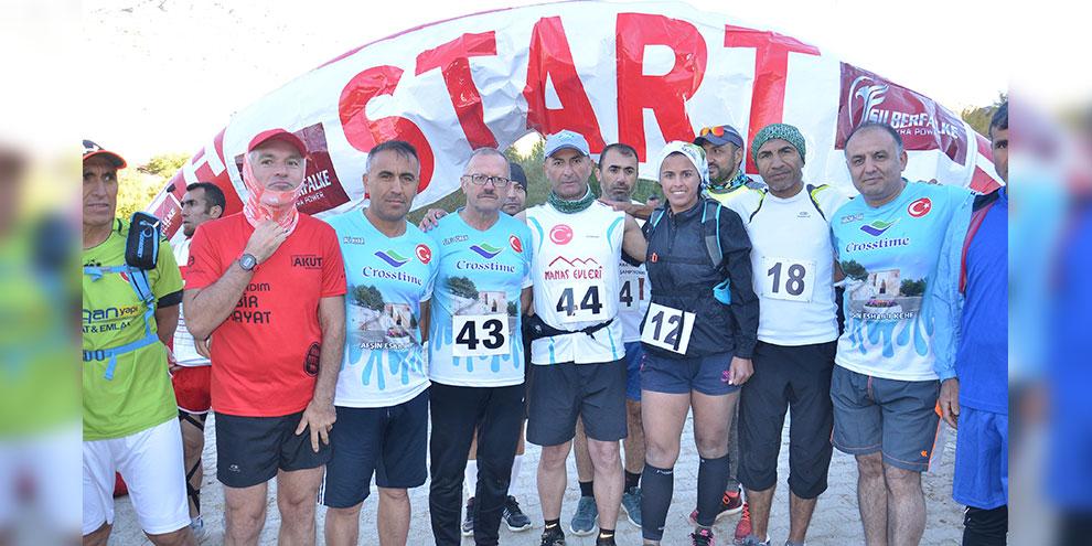 161 kilometrelik Ultra Maratonu 20 saat 50 dakikada koşuldu