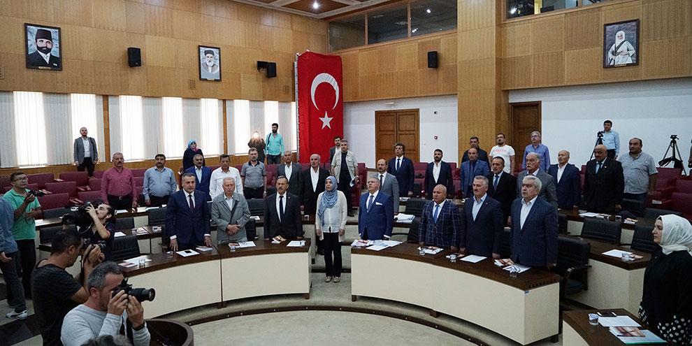 Büyükşehir Meclisi 9 Ekim'de toplandı