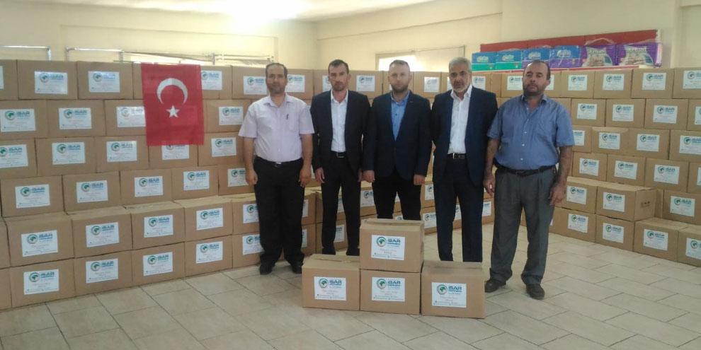 Suriyeli iş adamından anlamlı destek
