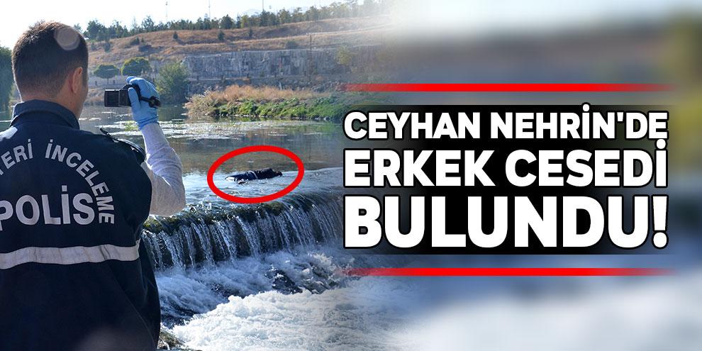 Ceyhan Nehrin'de erkek cesedi bulundu!