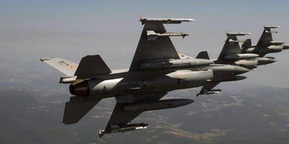 Kuzey Irak'ta 6 terörist öldürüldü