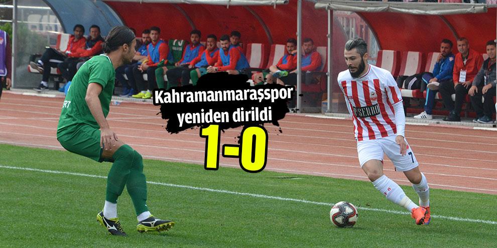 Kahramanmaraşspor yeniden dirildi! 1-0