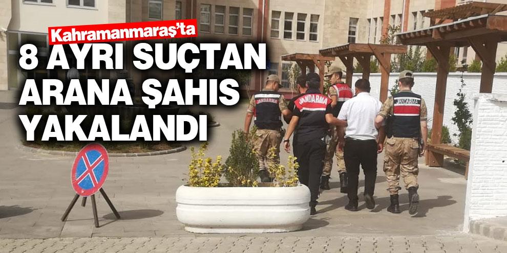 Suç makinesi Kahramanmaraş'ta yakalandı