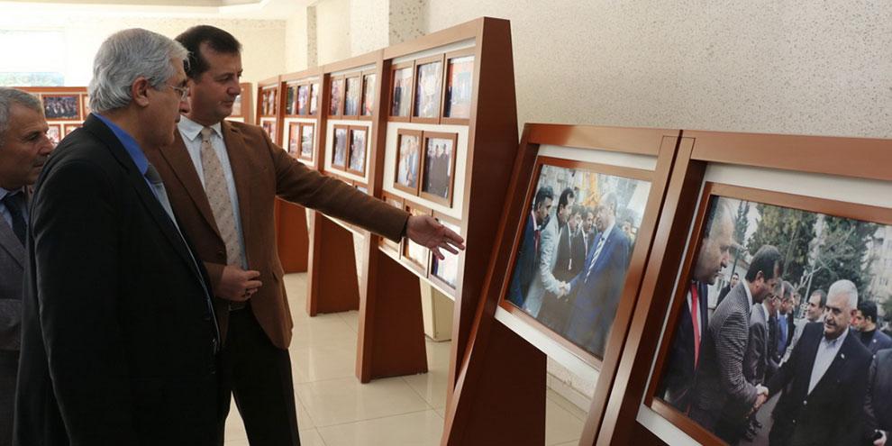 Rektör Can, Pazarcık Kaymakamını ve Başkan Bozdağ'ı ziyaret etti