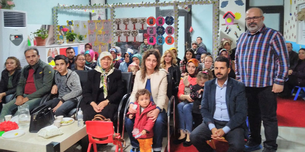 Asrın'da kandil programı düzenlendi