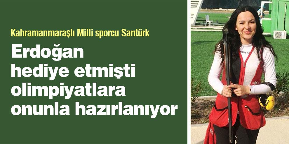 Erdoğan Hediye etmişti olimpiyatlara onunla hazırlanıyor