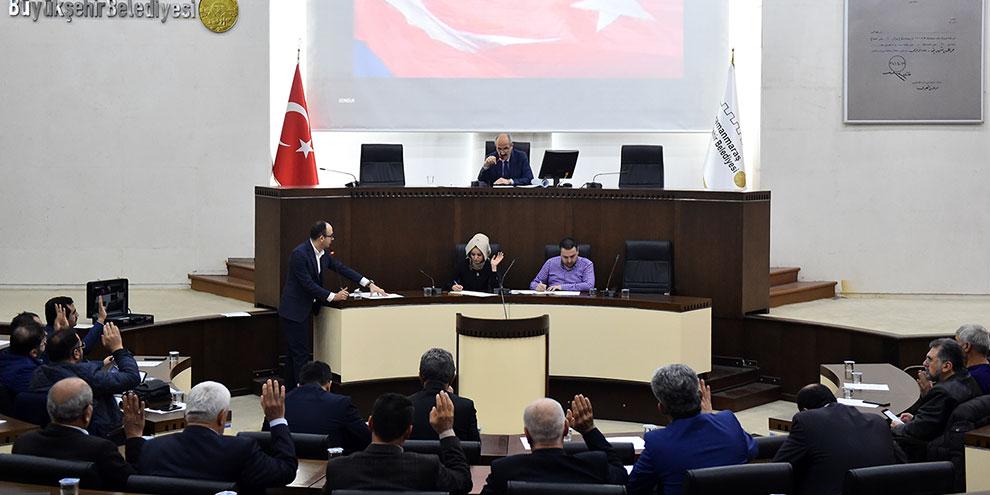 Dulkadiroğlu Belediyesi Aralık ayı meclis toplantısı