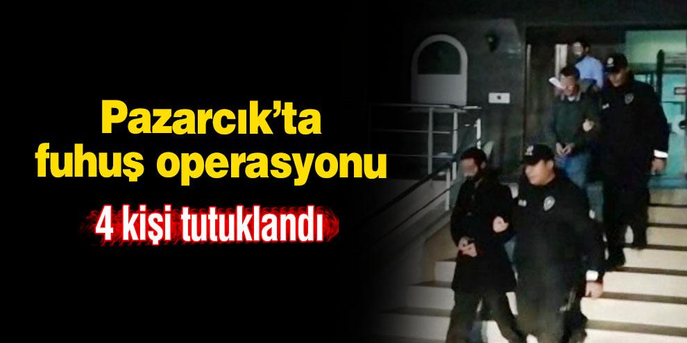 Pazarcık'ta fuhuş operasyonu