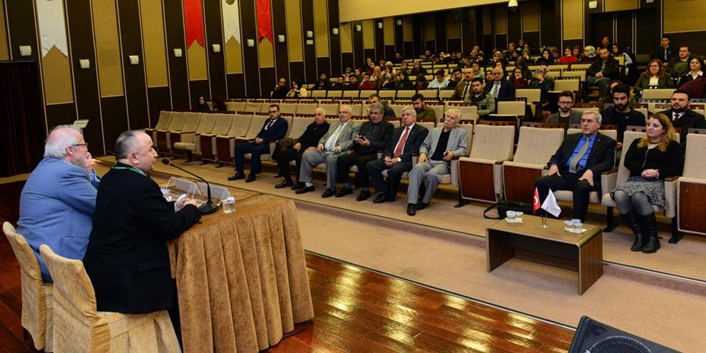 """KSÜ'de """"Bilim, Din ve Türkçülük"""" konulu konferans"""