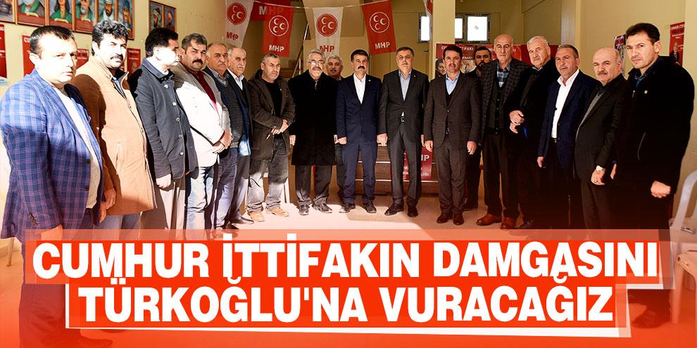 Başkan Okumuş; 'Büyük bir oy farkıyla Cumhur İttifakın damgasını Türkoğlu'na vuracağız'