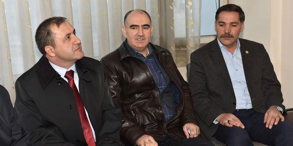 Vali Özkan Kahramanmaraş güvenlik korucuları derneğini ziyaret etti