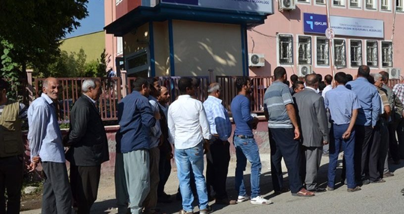 Türkiye'de Kayıtlı İşsiz Sayısı 3 Milyon 775 Bin 660 Kişi