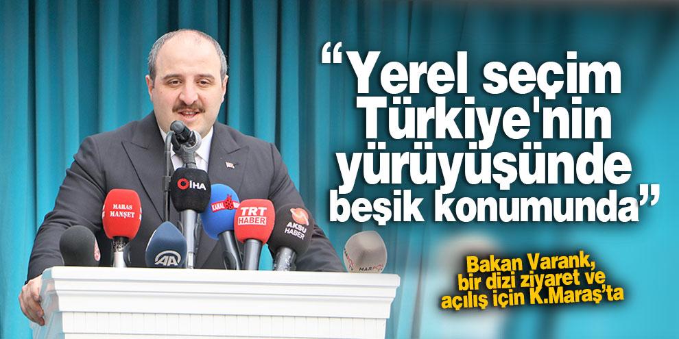 Yerel seçim Türkiye'nin yürüyüşünde beşik konumunda