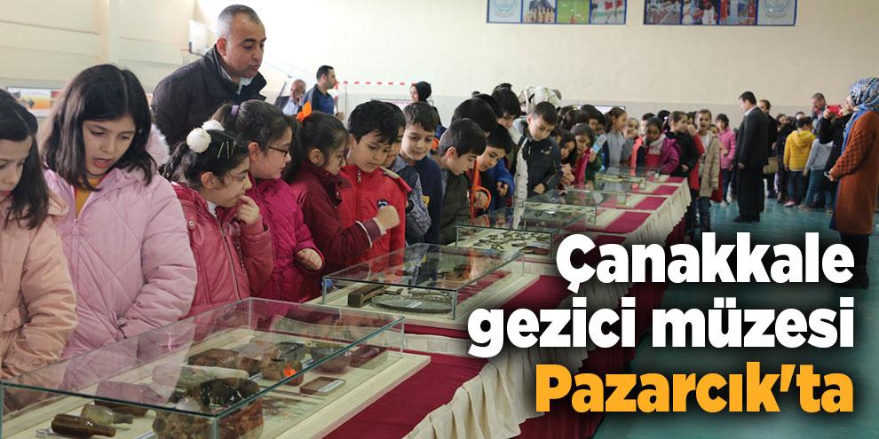 Çanakkale gezici müzesi Pazarcık'ta