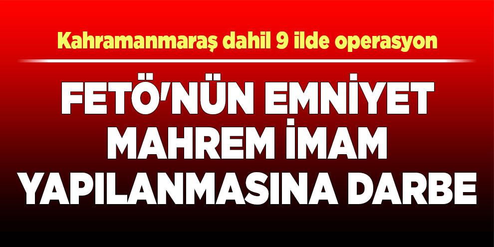 Adana polisinden FETÖ'nün emniyet mahrem imam yapılanmasına darbe