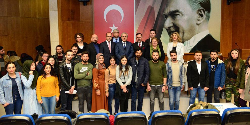 Emekli Albay Güler, KSÜ'de 'Balkanlara Hüzünlü Veda' konulu konferans verdi