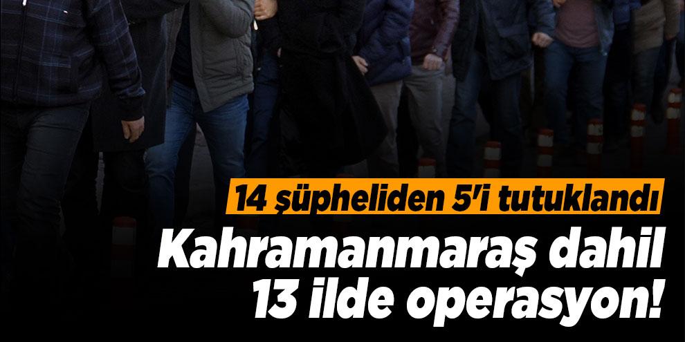 FETÖ'nün askeri mahrem yapılanması operasyonunda 5 tutuklama